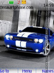Dodge Challenger SRT8 03 theme screenshot