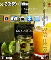 Tequila Lunazul es el tema de pantalla