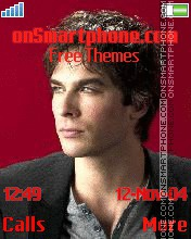 Ian Somerhalder 2 theme screenshot