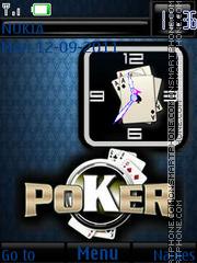 Poker By ROMB39 es el tema de pantalla