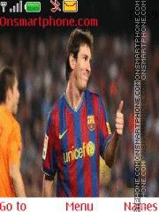 Messi theme screenshot