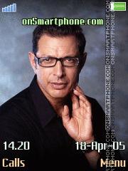 Jeff Goldblum es el tema de pantalla