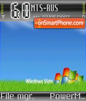 Vista Grass theme screenshot