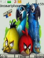 Angry Birds 08 theme screenshot