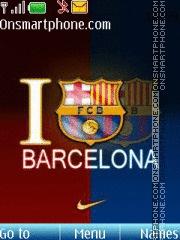 I Love Barcelona es el tema de pantalla