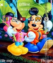 Pure Love Mickey Mouse es el tema de pantalla