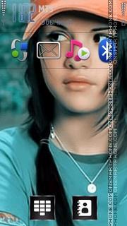 Selena Gomez 04 es el tema de pantalla