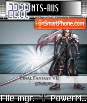 FF VIII es el tema de pantalla