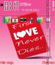 Love Never Dies 03 es el tema de pantalla