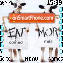 Vacas es el tema de pantalla