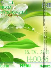 Flower tema screenshot