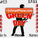 Green Day theme screenshot