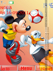 Disney Cartoon theme screenshot