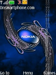 Capture d'écran Nokia 7245 thème