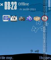 My world 02 es el tema de pantalla