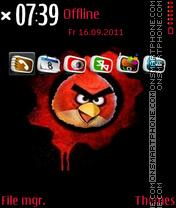 Angry Birds 09 theme screenshot