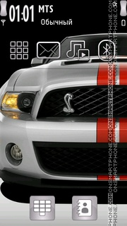 Ford Shelby 02 theme screenshot