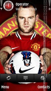 Rooney hattrick theme screenshot
