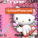 Hello Kitty 04 es el tema de pantalla