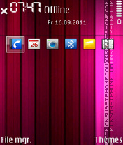 Beautiful pink es el tema de pantalla