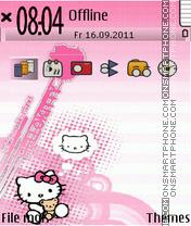 Cute Kitty 05 es el tema de pantalla