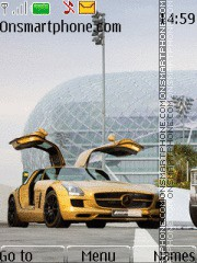 Mercedes_Sls_Amg theme screenshot
