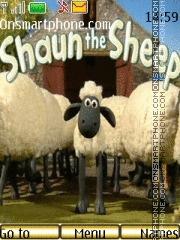 The shaun the shep es el tema de pantalla