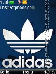 Capture d'écran Adidas Blue thème