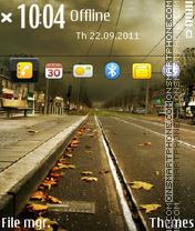 Autumn Road 03 es el tema de pantalla