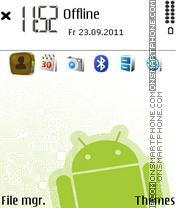 Green Ovi V2 theme screenshot