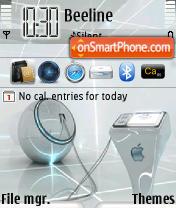 MacSilver theme screenshot