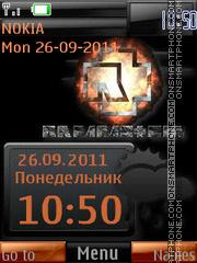 Rammstein By ROMB39 es el tema de pantalla