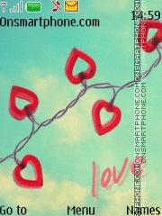 Love 15 es el tema de pantalla