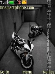 Yamaha R1 2014 es el tema de pantalla