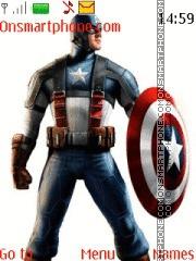 Captain America 09 es el tema de pantalla