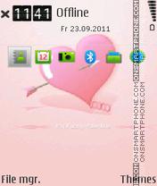 Heart E-Series es el tema de pantalla