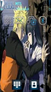 Naruto-Hinata theme screenshot