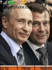 Vladimir Putin i Dmitry Medvedev es el tema de pantalla