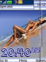 Marine nu12 pict swf es el tema de pantalla