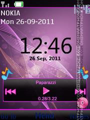 Dedicated Music es el tema de pantalla