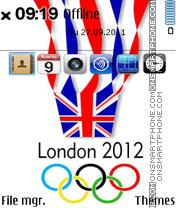 London 2012 Summer Olympics es el tema de pantalla