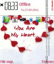 My Heart 04 es el tema de pantalla
