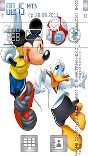 Mickey 09 theme screenshot