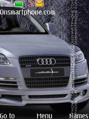 Audi Q7 es el tema de pantalla