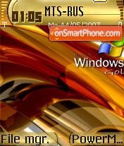 Windows Vista Gold theme screenshot