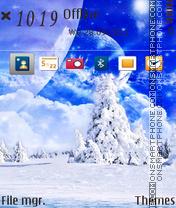 Snow Place es el tema de pantalla