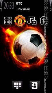 Football Teams 01 tema screenshot