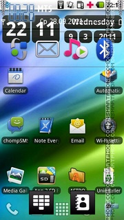 Nokia Android Ft Htc theme screenshot