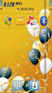 Happy Birthday 04 theme screenshot