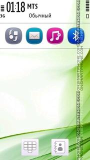 Symbian Pr2 White theme screenshot